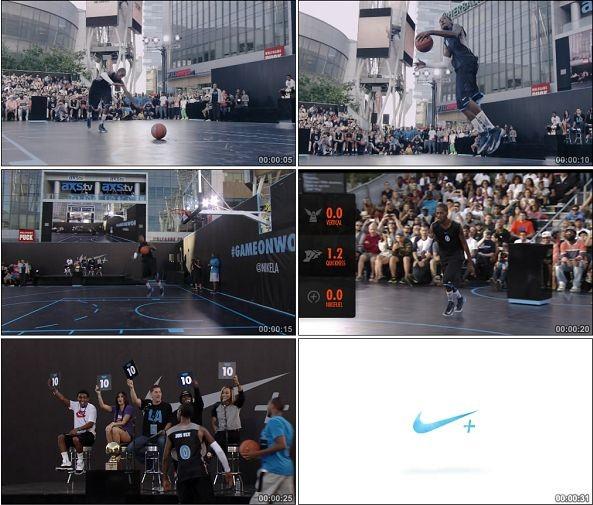 TVC01003-Nike+ Basketball Presents广告花式扣篮1080p