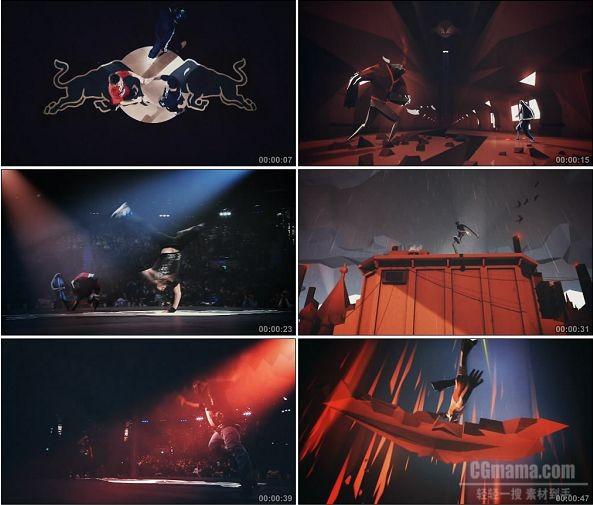 TVC01009-Red Bull BC One 街舞斗牛比赛广告