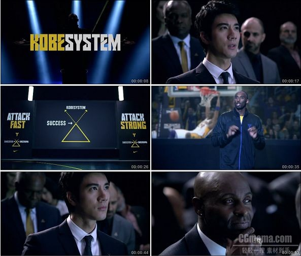 TVC01019-科比 NIKE广告 Welcome to the KobeSystem.1080p