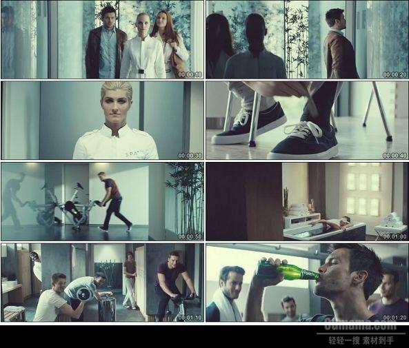 TVC01031-Carlsberg 啤酒广告The Crate Escape .720p