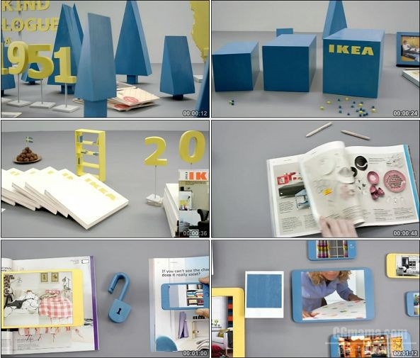 TVC01046-IKEA 宜家广告 A New Kind Of Catalogue.720p
