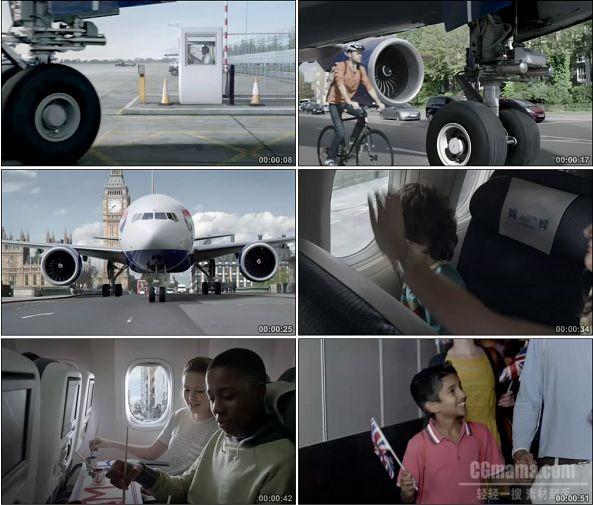 TVC01080-British Airways -Home Advantage -720P -航空