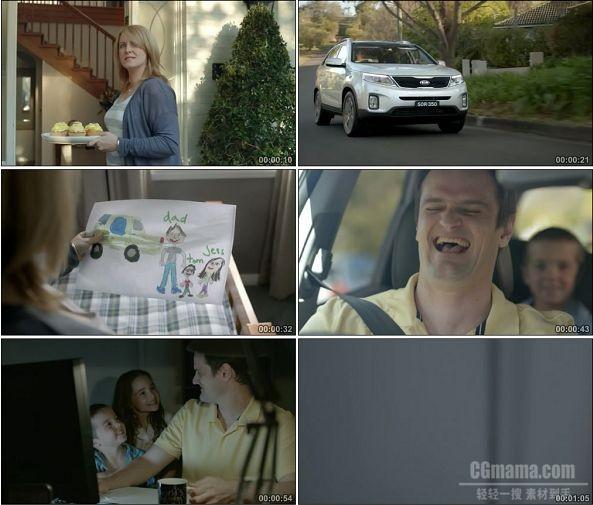 TVC01099-Kia Sorento -Fathertism -720P -汽车