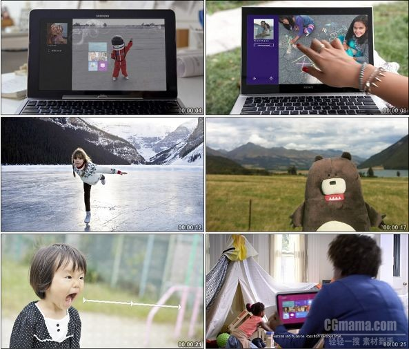 TVC01126-Windows 8 操作系统广告 Sign in with a Smile.1080p