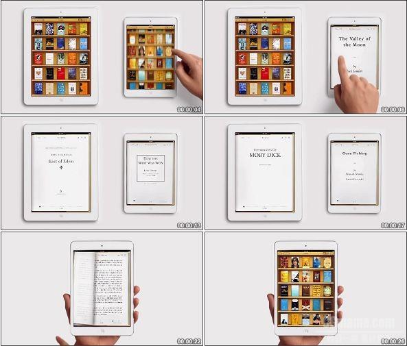 TVC01138-Apple苹果 iPad mini 广告 Books.1080p