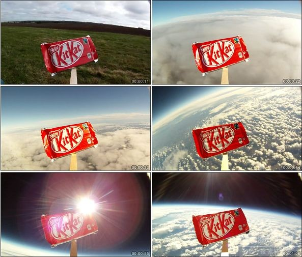 TVC01160-Kit Kat Goes To Space 遨游太空广告.1080p