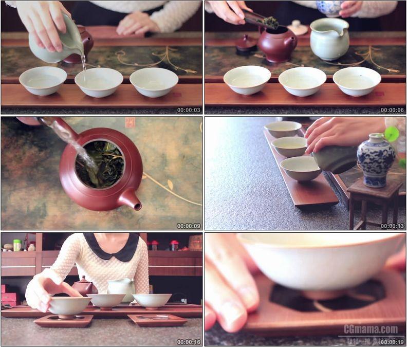 YC1953-中华饮茶文化煮茶泡茶高清实拍视频素材