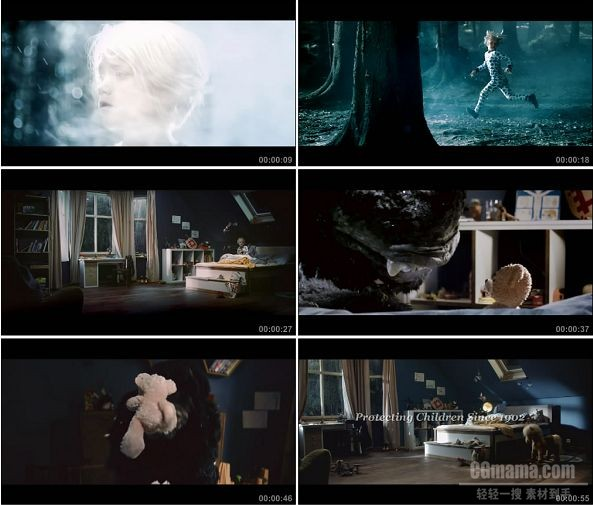 TVC01224-Steiff泰迪熊玩具 - Don't Be Afraid Of The Dark.1080p