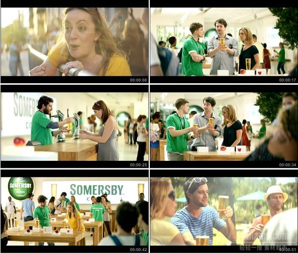 TVC01323-Somersby啤酒 The Launch.720P