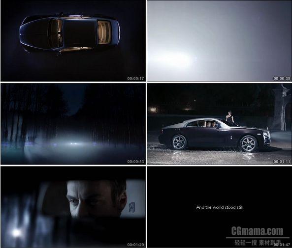 TVC01339-劳斯莱斯汽车广告 Wraith Coupe.1080P
