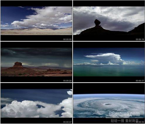 CG0008-风起云涌变幻莫测高清实拍视频素材