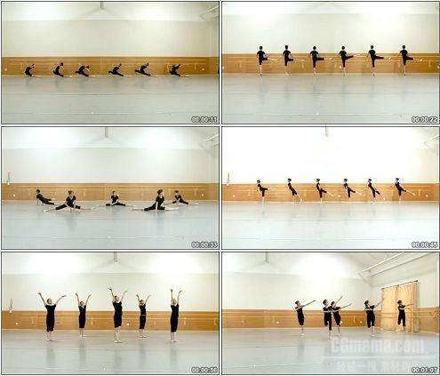 CG0024-柔软的舞姿舞蹈基础训练高清实拍视频素材