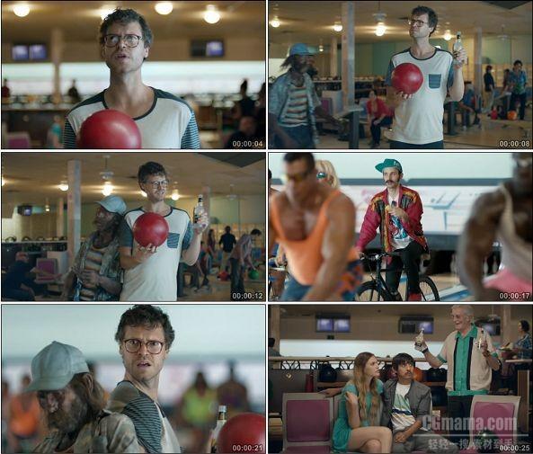 TVC01519-Mike's Hard Lemonade冰啤酒广告 Bowling.1080P