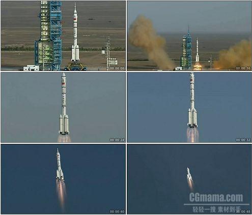 CG0157-火箭发射科技高清实拍视频素材