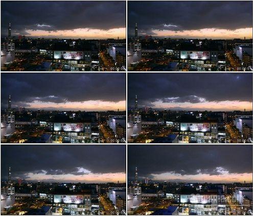 CG0177-台北城市夜景高清实拍视频素材