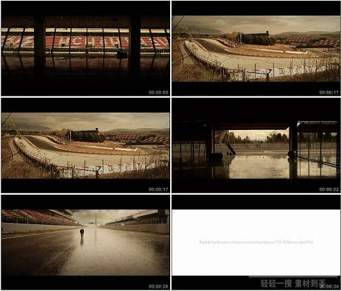 CG0210-露天大赛场内外景展示高清实拍视频素材