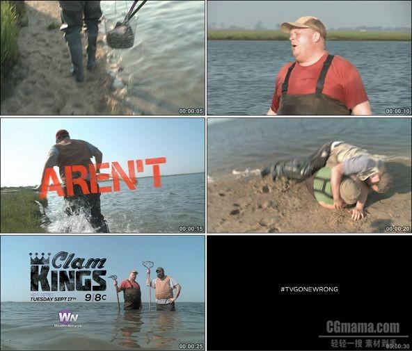 TVC01628-PBS美国公共广播(传媒类) Clam Kings .1080P