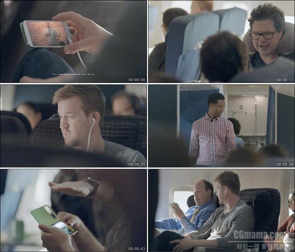 TVC01682-Samsung GALAXY S4手机(通讯类) Airplane.1080P