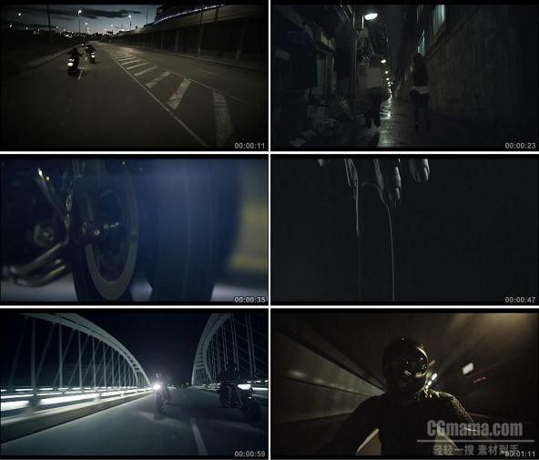 TVC01706-交通类机车_Yamaha MT-09- The Dark side of Japan 1080P