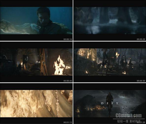 TVC01791--游戏_Assassin'sCreed4刺客信条4 Live Action Trailer 720P