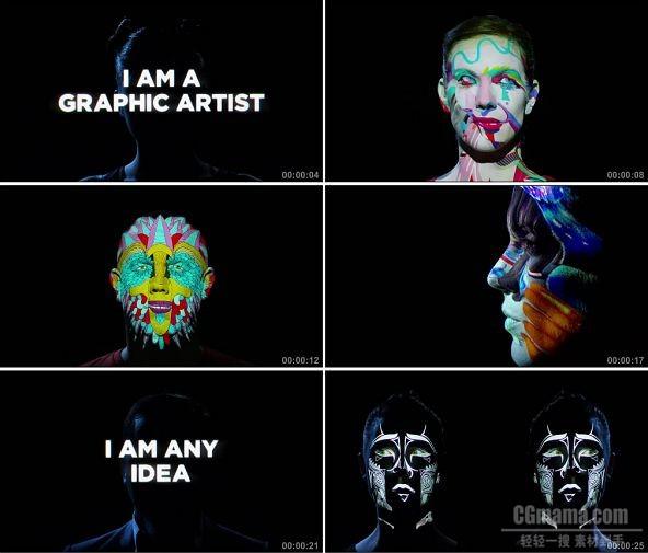 TVC01810-计算机软件_Adobe- I Am the New Creative 720P
