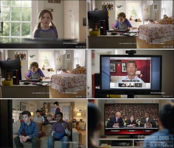 TVC01888-通讯类_Verizon FiOS- Gridiron Girl -1080P