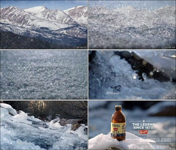 TVC02031-酒类啤酒_Coors Banquet啤酒- Water 720P