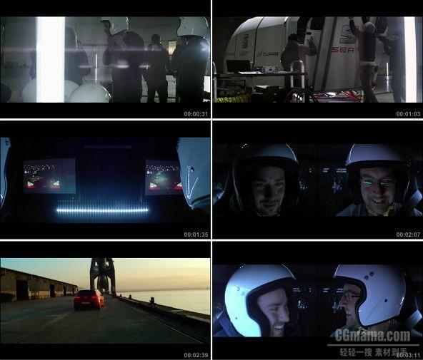 TVC02087-汽车_Seat- Cupra Extreme Simulator 1080P