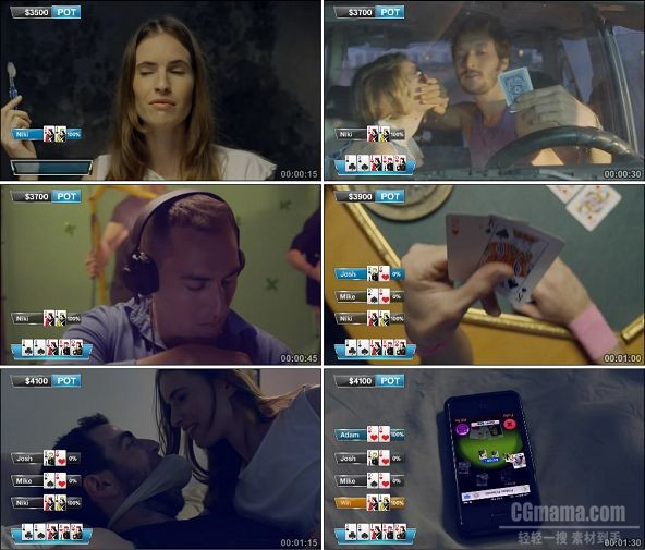 TVC02151-游戏_Poker Friends- Rub it in Your Friends' Faces 1080P