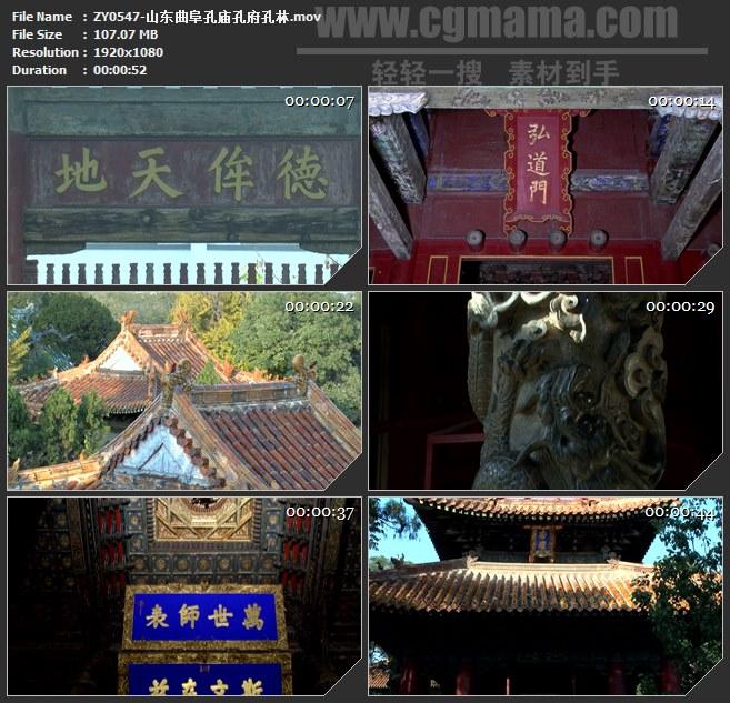ZY0547-山东曲阜孔庙孔府孔林