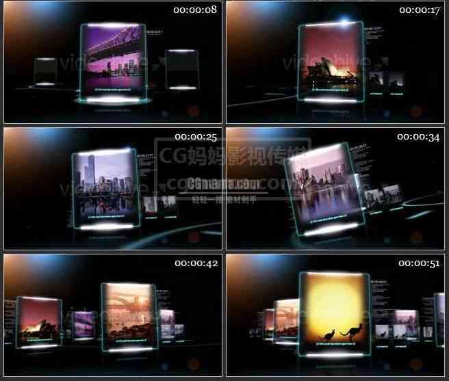 AE0010-3D数码空间图片展示