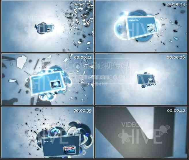 AE0017-浮动空间图文展示