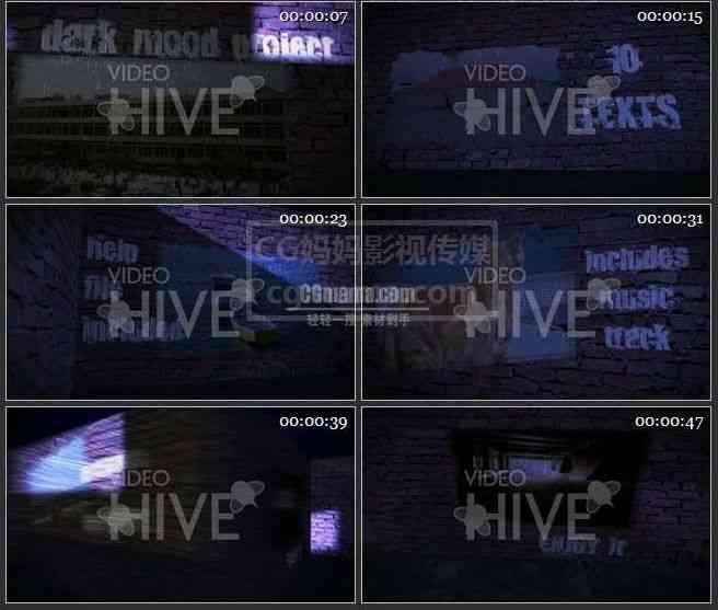 AE0036-漆黑的夜晚图片展示