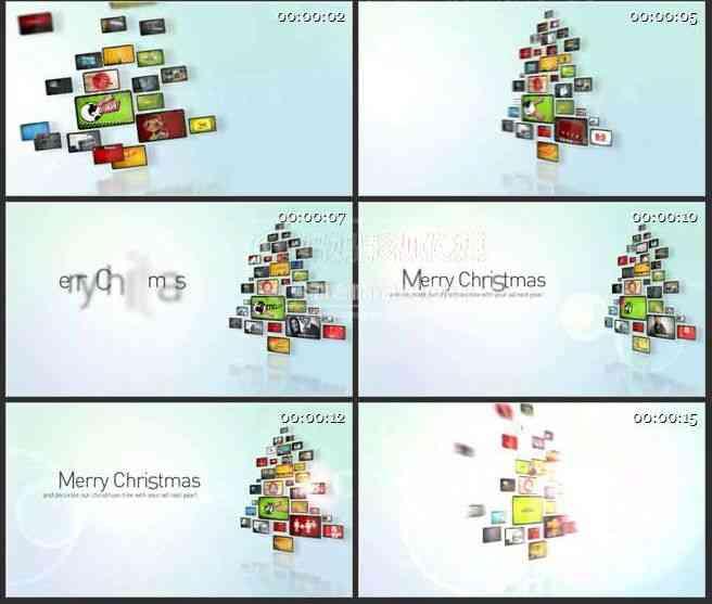 AE0038-欢乐圣诞照片展示