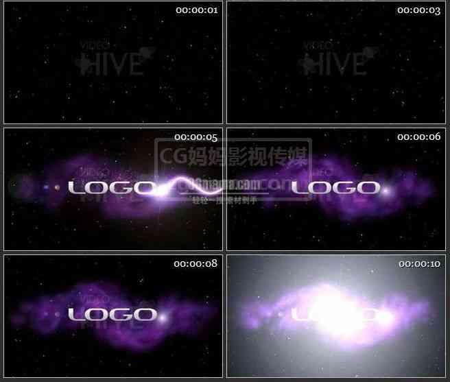 AE0128-光效 LOGO演绎 标志展示
