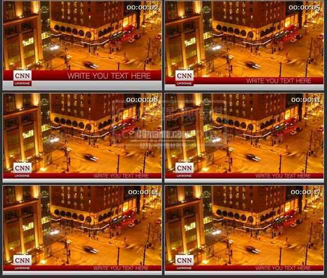 AE0207-新闻报道屏幕显示栏目包装