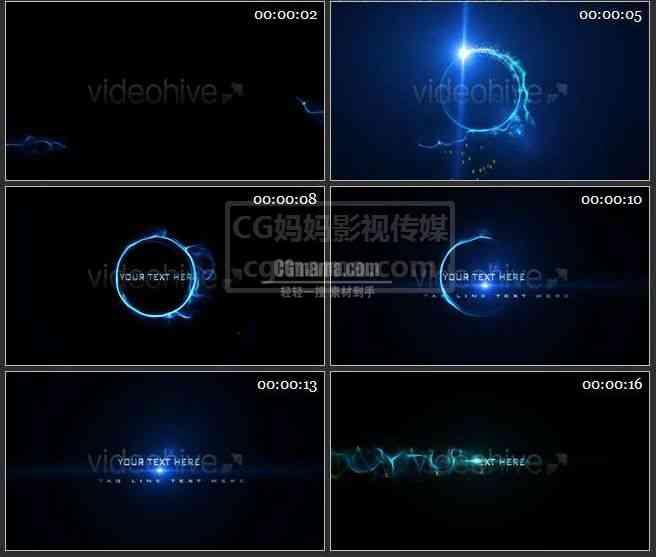 AE0231-蓝色光斑  图文展示