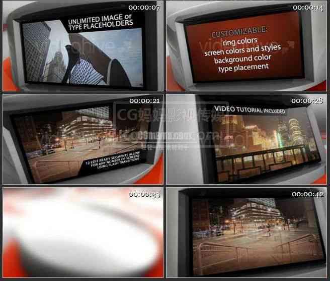 AE0249-现代风格  图文视频展示