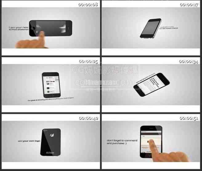 AE0254-手机模型产品展示
