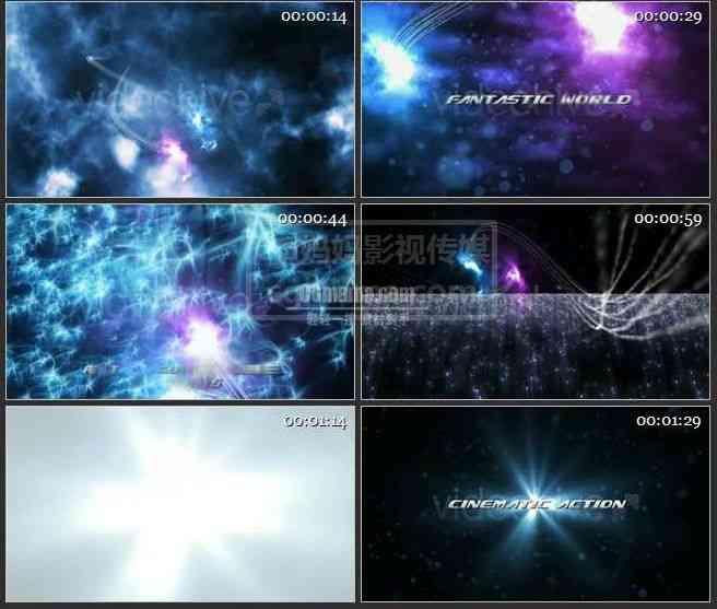 【AE模版】AE0316-玄幻空间 文本展示