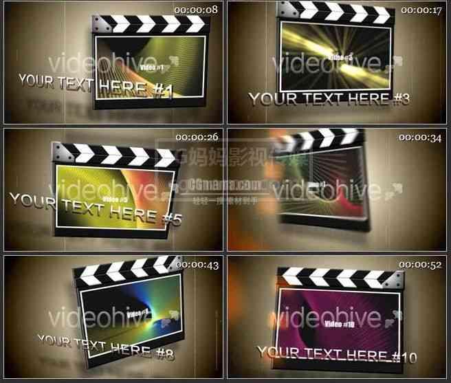 AE0512电影板 图文展示