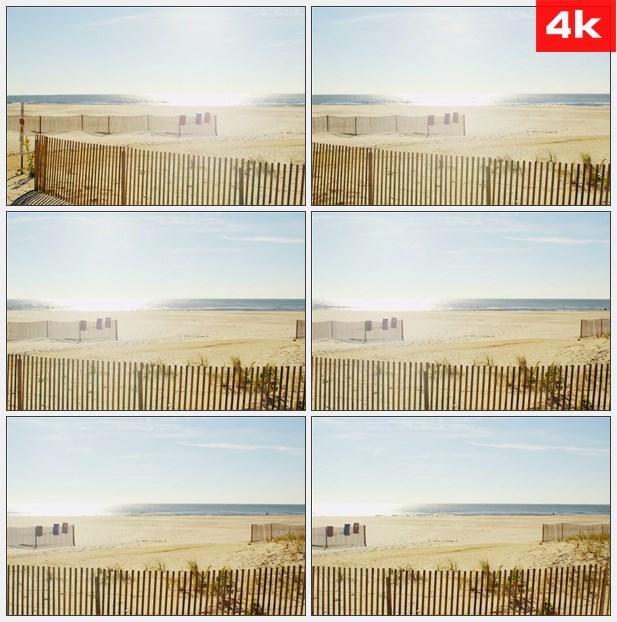 4K0076阳光明媚的海滩上 高清实拍视频素材