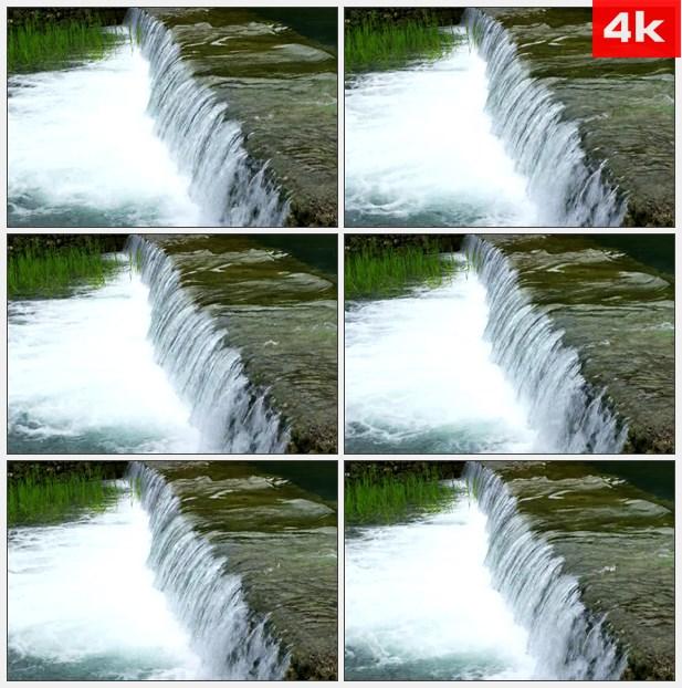 4K0109小瀑布. 高清实拍视频素材