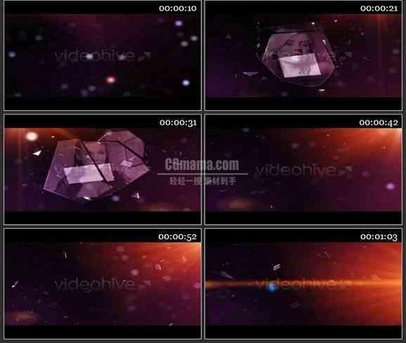 AE0569-破碎的玻璃 图片展示