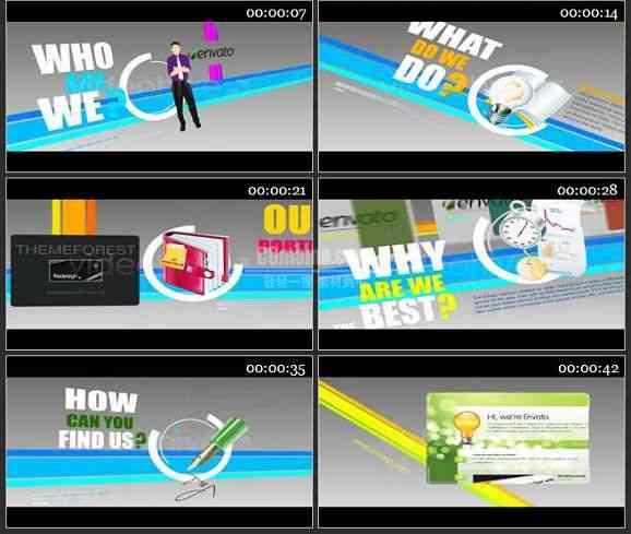 AE0572-商业动画 文本展示