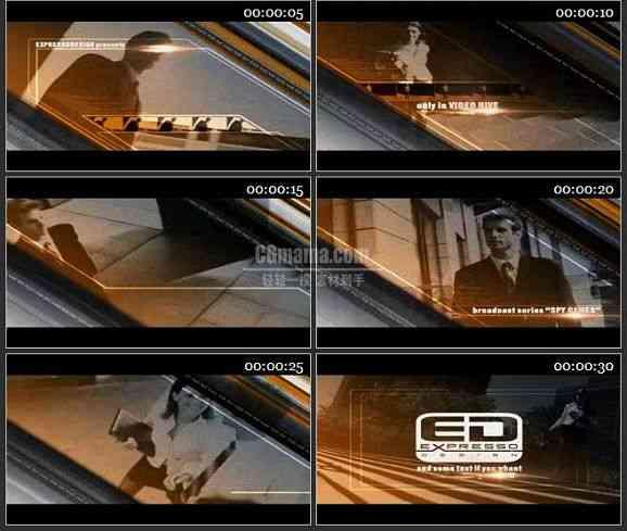 AE0614-影视 视频展示