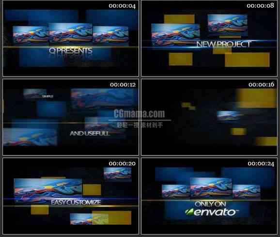 AE0622-动感空间图片展示