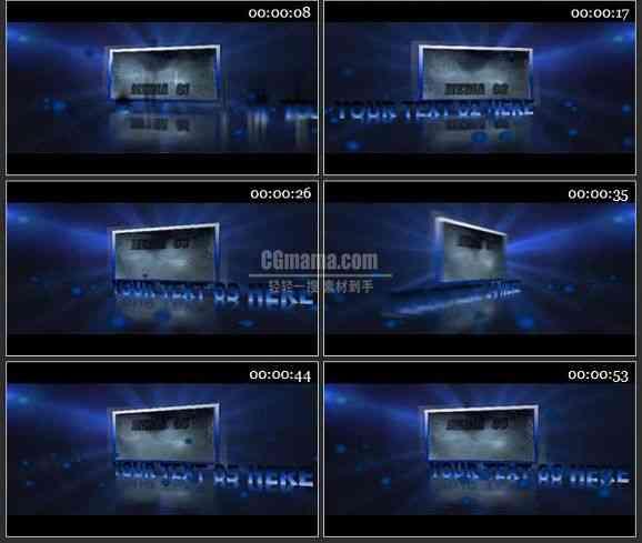 AE0637-商业宣传 图文视频展示 LOGO展示