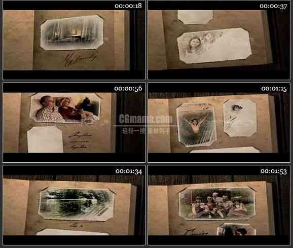 AE0712-旧书 相册