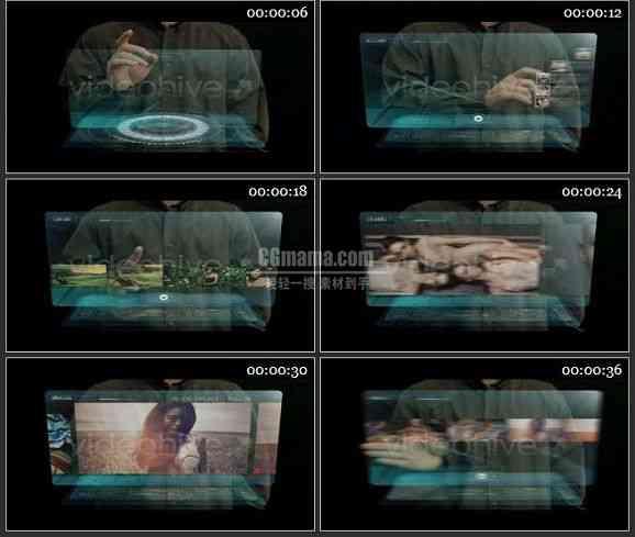 AE0750-数码展示真人实景 图片展示